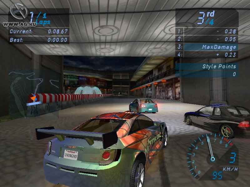 Need for Speed: Underground - 1-2 (2003-2004) PC | RePack от R.G. Механики
