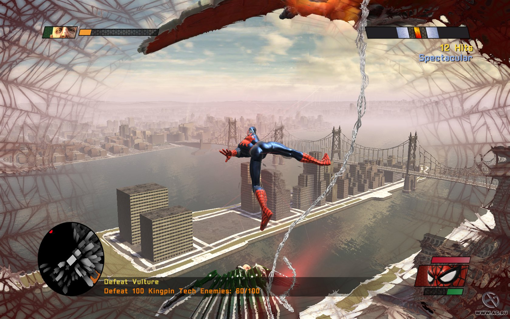Spider-Man - Web of Shadows (2008) PC | Repack by MOP030B