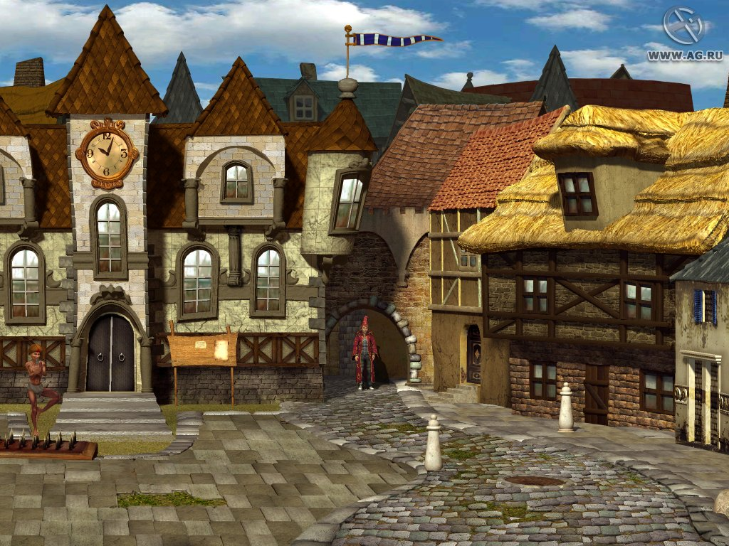 Simon the Sorcerer 4 - Chaos Happens / Саймон-волшебник. Заколдованный мир (2008) PC