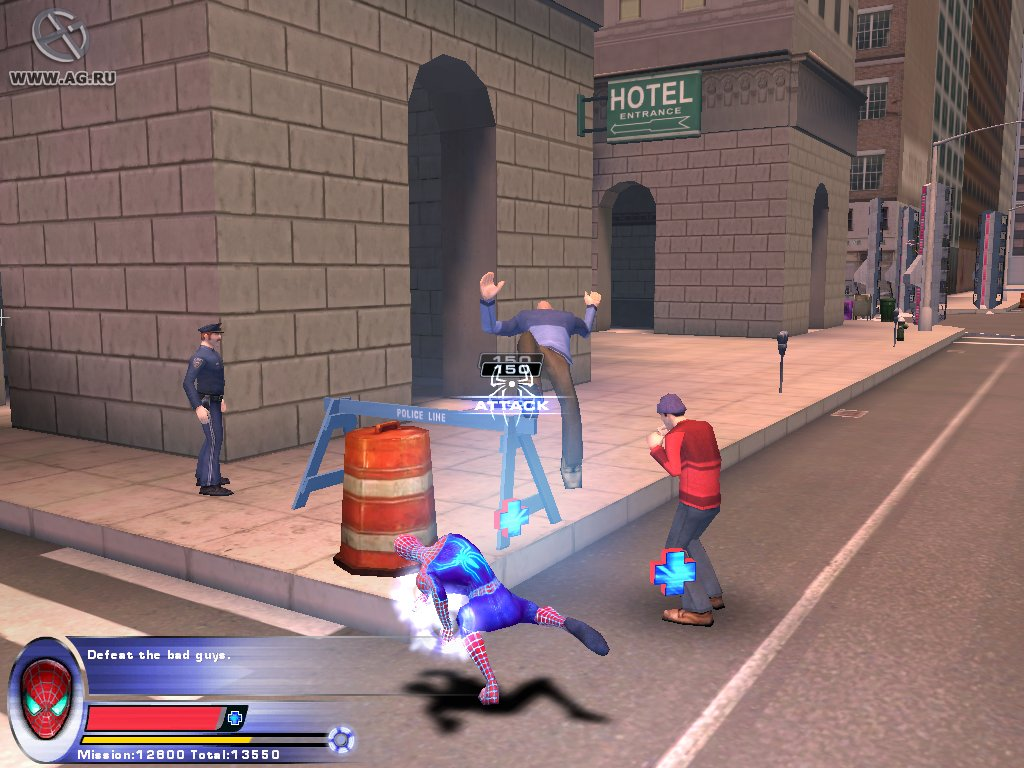 �������-���� 2 / Spider-Man 2 - The Game (2004) PC