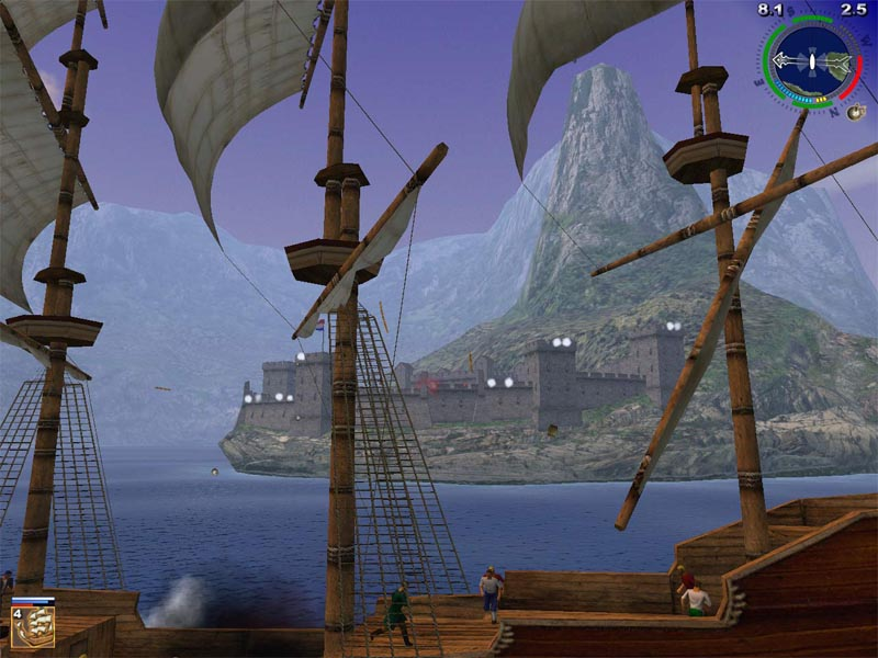 Скачать бесплатно Корсары 2 - Пираты Карибского моря / Sea Dogs 2 - Pirates